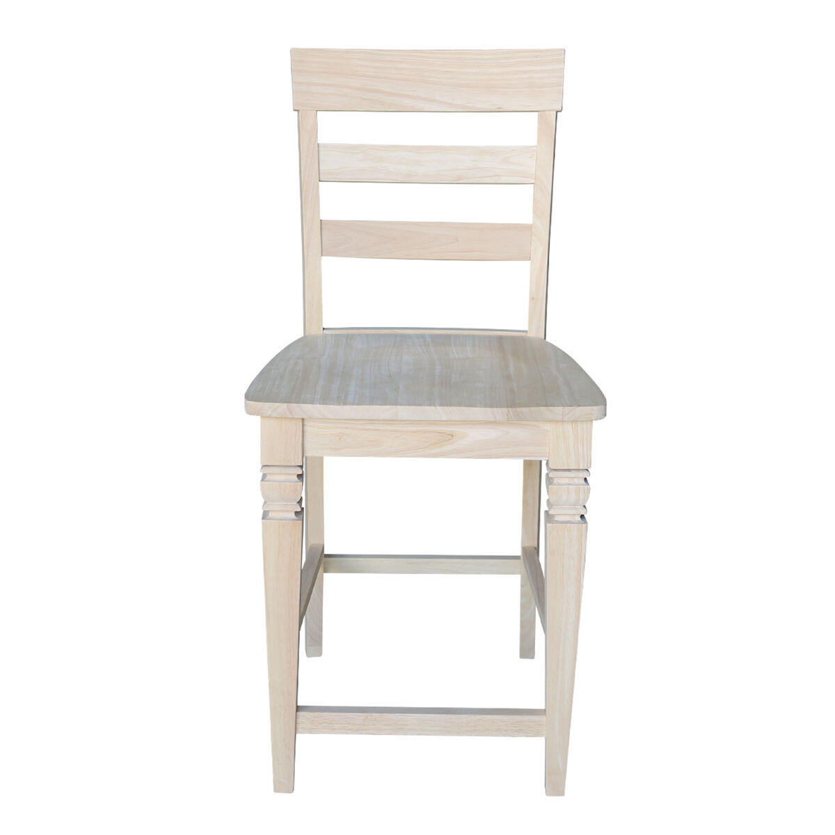 Solid Parawood Counter Stool S 192 Bizchair Com
