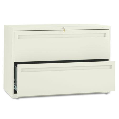Our HON® 700 Series Two-Drawer Lateral File - 42w x 19-1/4d - Putty is on sale now.