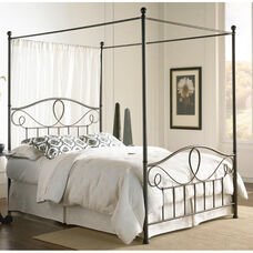 Sylvania Dynamic Style Metal Canopy Kit - Queen - French Roast