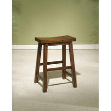Saddle Stool - Honey Brown