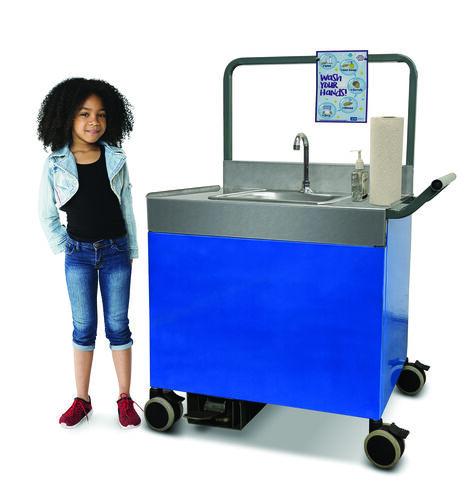 Pre-K Through 5th Grade Portable Counter Height Sink