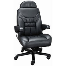 Limited High Back Office Chair with Dual Lumbar Support - Fabric