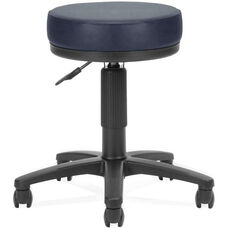 Anti-Microbial and Anti-Bacterial Vinyl UtiliStool - Navy