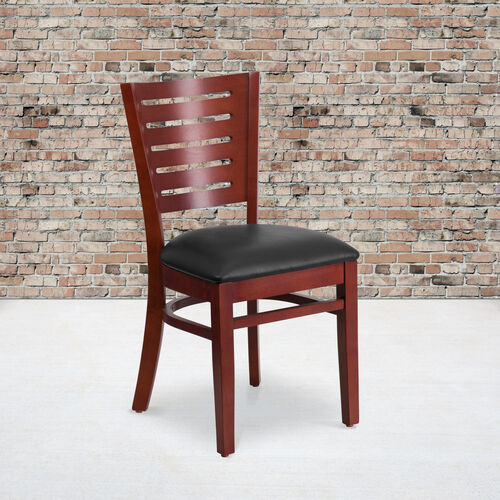 Our Slat Back Wooden Restaurant Chair is on sale now.