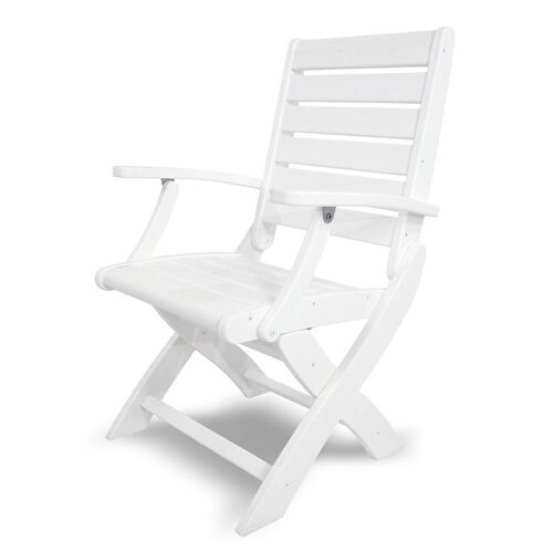 Our POLYWOOD® Signature Folding Chair - White is on sale now.