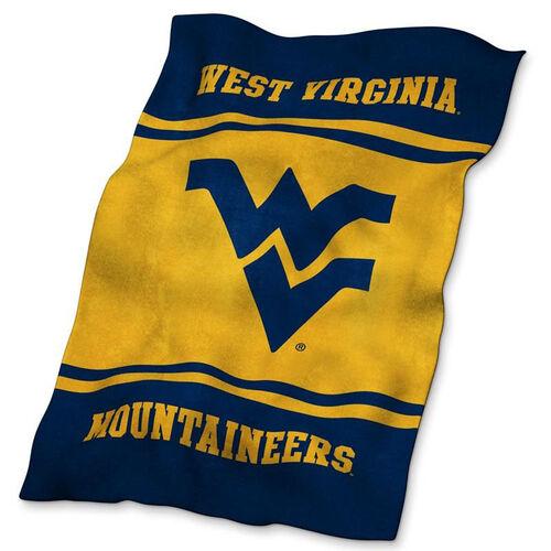 West Virginia University Team Logo Ultra Soft Blanket