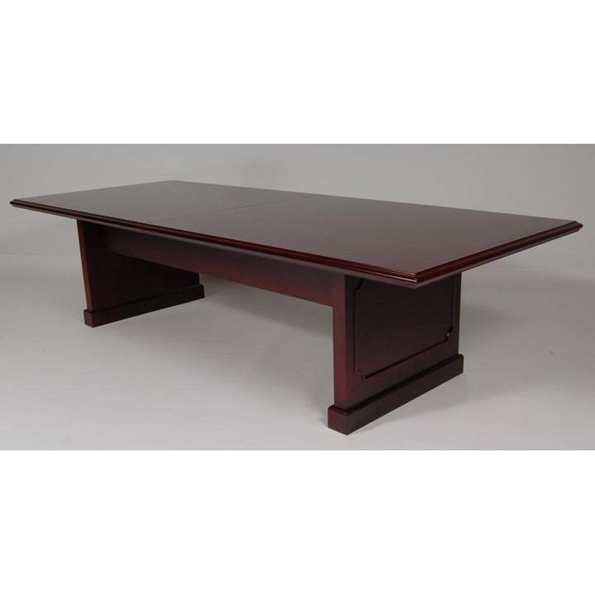 Mahogany Conference Table MH Bizchaircom - Wood veneer conference table