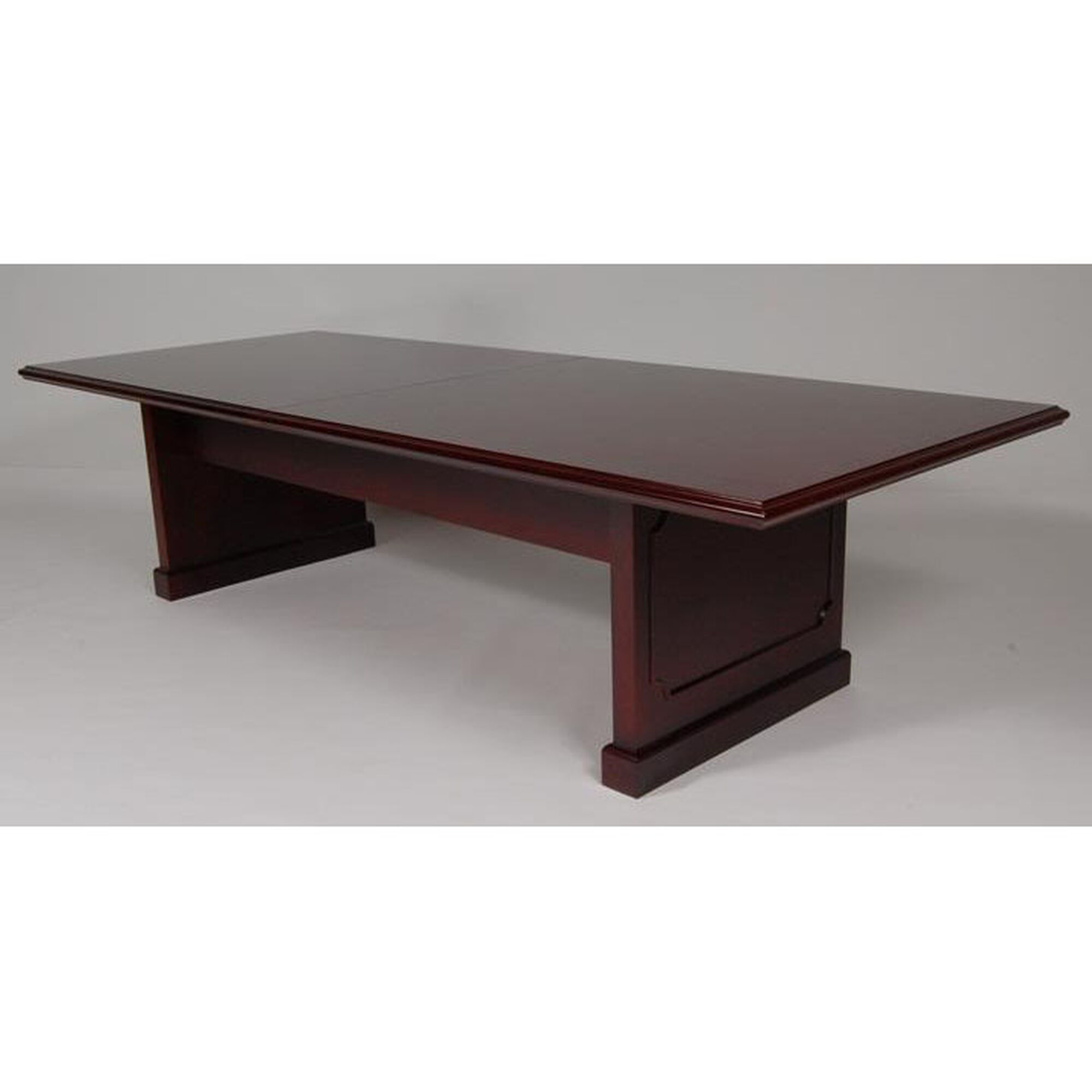 Officesource 120 39 39 wood veneer conference table in for 120 conference table