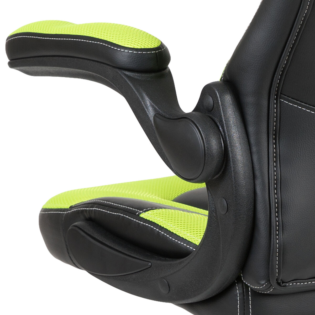 Swell X10 Gaming Chair Racing Office Ergonomic Computer Pc Adjustable Swivel Chair With Flip Up Arms Neon Green Black Leathersoft Ocoug Best Dining Table And Chair Ideas Images Ocougorg