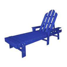 POLYWOOD® Long Island Collection Chaise Lounge - Vibrant Pacific Blue