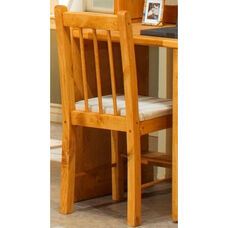 Rustic Style Solid Pine Desk Chair - Cinnamon