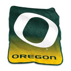 University of Oregon Team Logo Raschel Throw