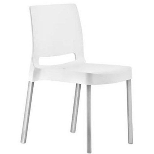 Our Pedrali Stackable Poly Shell Outdoor Chair in White is on sale now.