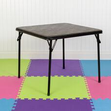 Kids Black Folding Table