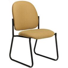 Pearl II 300 Series Armless Sled Base Guest Chair