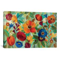 Summer Floral V by Silvia Vassileva Gallery Wrapped Canvas Artwork