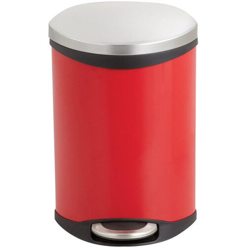 Our Ellipse 3 Gallon Step on Medical Trash Receptacle - Red is on sale now.