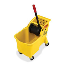 Rubbermaid Commercial Products 31Qt Mop Bucket Combination - 13.38