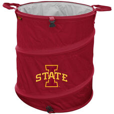 Iowa State University Team Logo Collapsible 3-in-1 Cooler Hamper Wastebasket