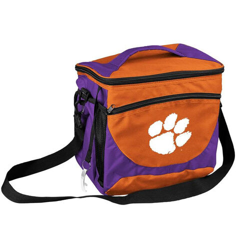 Our Clemson University Team Logo 24 Can Cooler is on sale now.