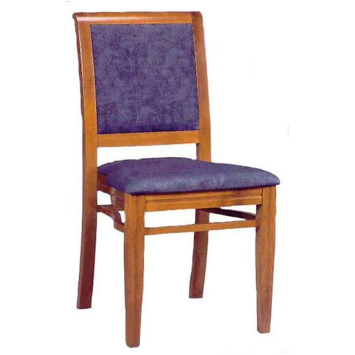 Upholstered stacking guest chair grade bizchair