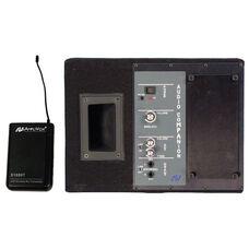 Wireless 50 Watt Powered Dual Speaker and Transmitter Kit - 13