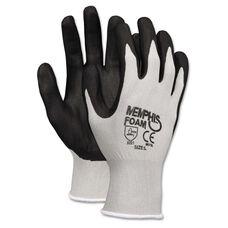 Memphis™ Economy Foam Nitrile Gloves - Gray/Black - 12 Pairs