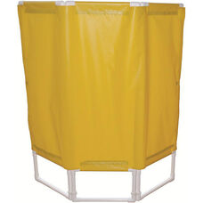 3 Panel Portable Privacy Screen - With Casters