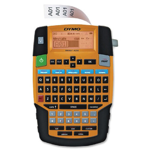 Our Dymo Rhino 4200 Labelmaker is on sale now.