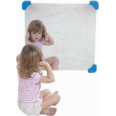 24'' Square Wall Hung Mirror
