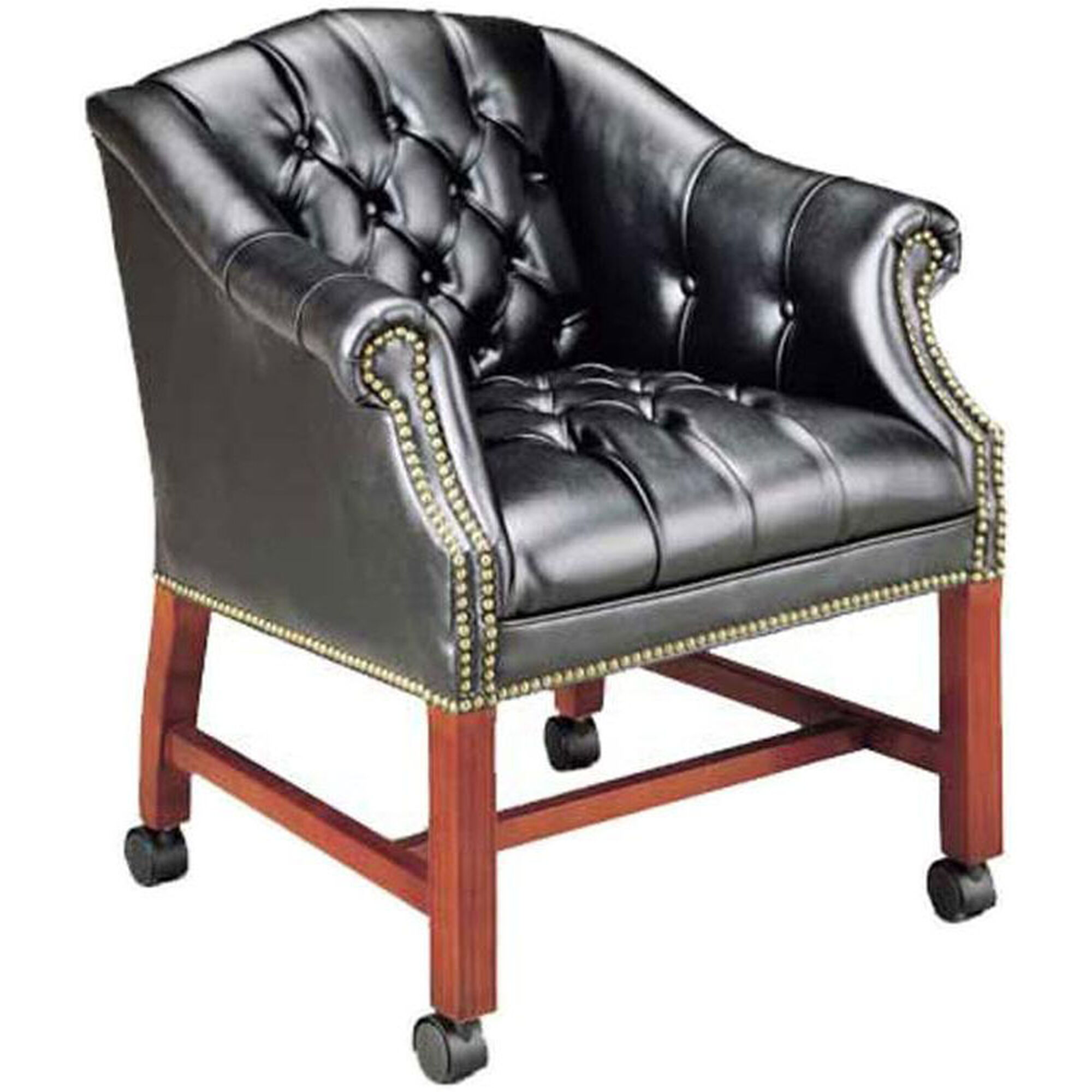 High Point Furniture Industries Quick Ship Traditional Series Tufted Conference Chair 4076