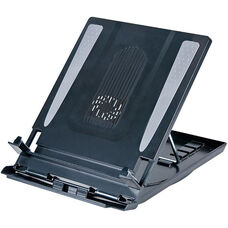 LapLift and Laptop Riser with Cooling Fan - Black