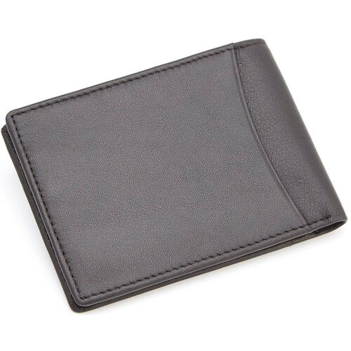 Our RFID Blocking Double Id Flat Fold Wallet - Top Grain Nappa Leather - Black is on sale now.
