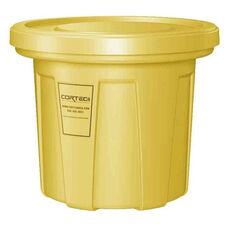 20 Gallon Cobra Food Grade/General Use Trash Can - Yellow