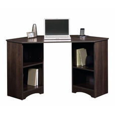 Beginnings 53.125''W Computer Desk with Adjustable Shelves - Cinnamon Cherry