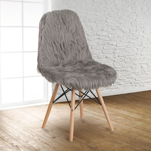 Our Shaggy Dog Charcoal Gray Accent Chair is on sale now.