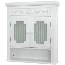 Lisbon Wall Cabinet - White