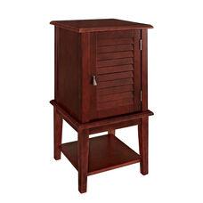 Hatteras Shutter Door with Shelf - Red