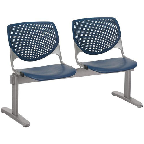 Our 2300 KOOL Series Beam Seating with 2 Poly Perforated Back and Seats with Silver Frame is on sale now.