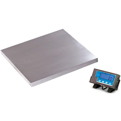Our 500lb Capacity Floor Scale with Stainless Steel Platform - 22