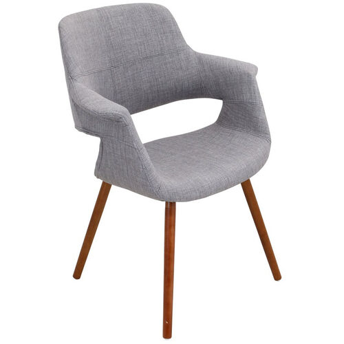 Our Vintage Flair Mid-Century Modern Fabric Accent Chair - Light Grey is on sale now.