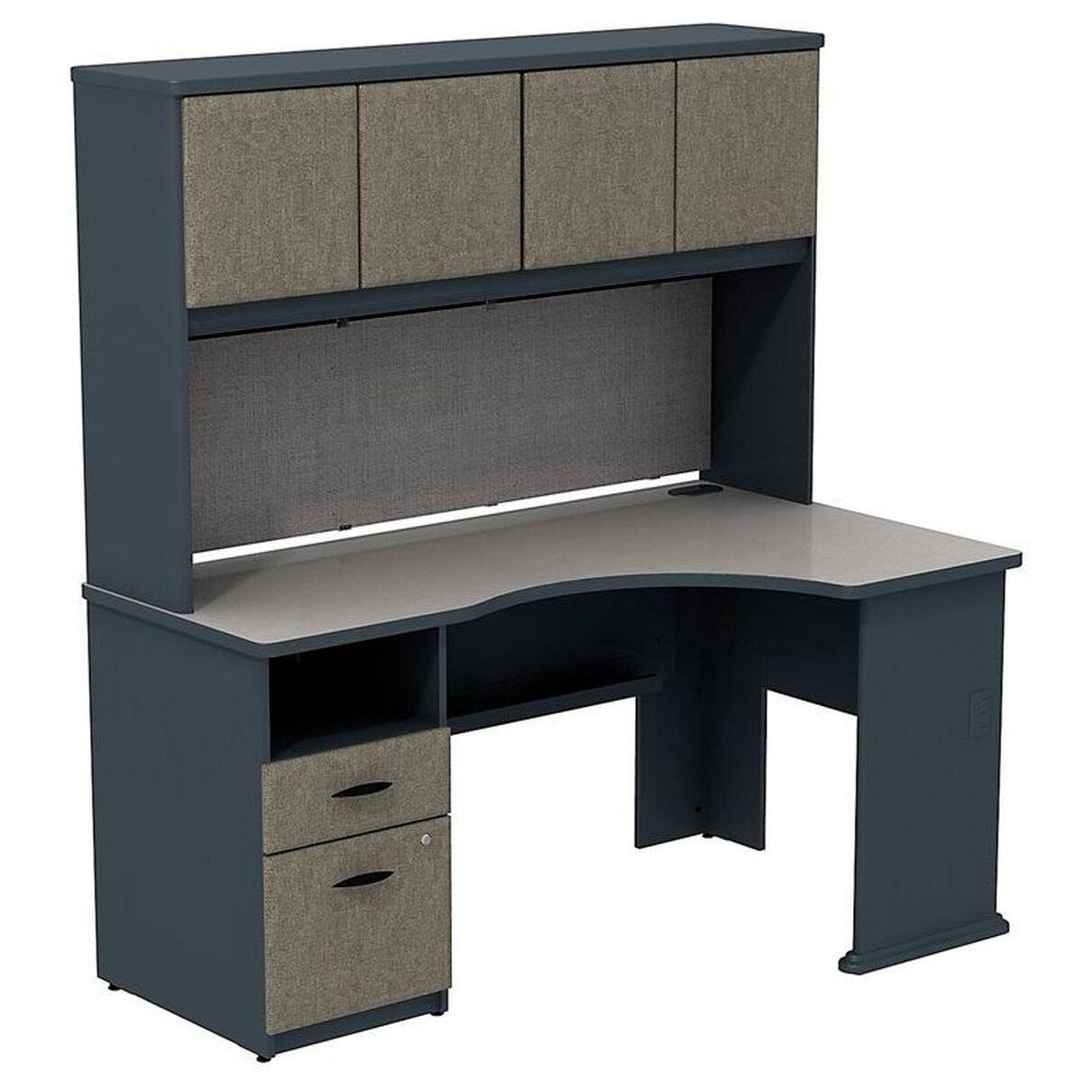 Our Series A 60 W X 36 D Single Pedestal Corner Desk