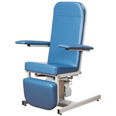 Recliner Series Hi-Lo Blood Drawing Chair with Hand Controller - 375 lbs Capacity