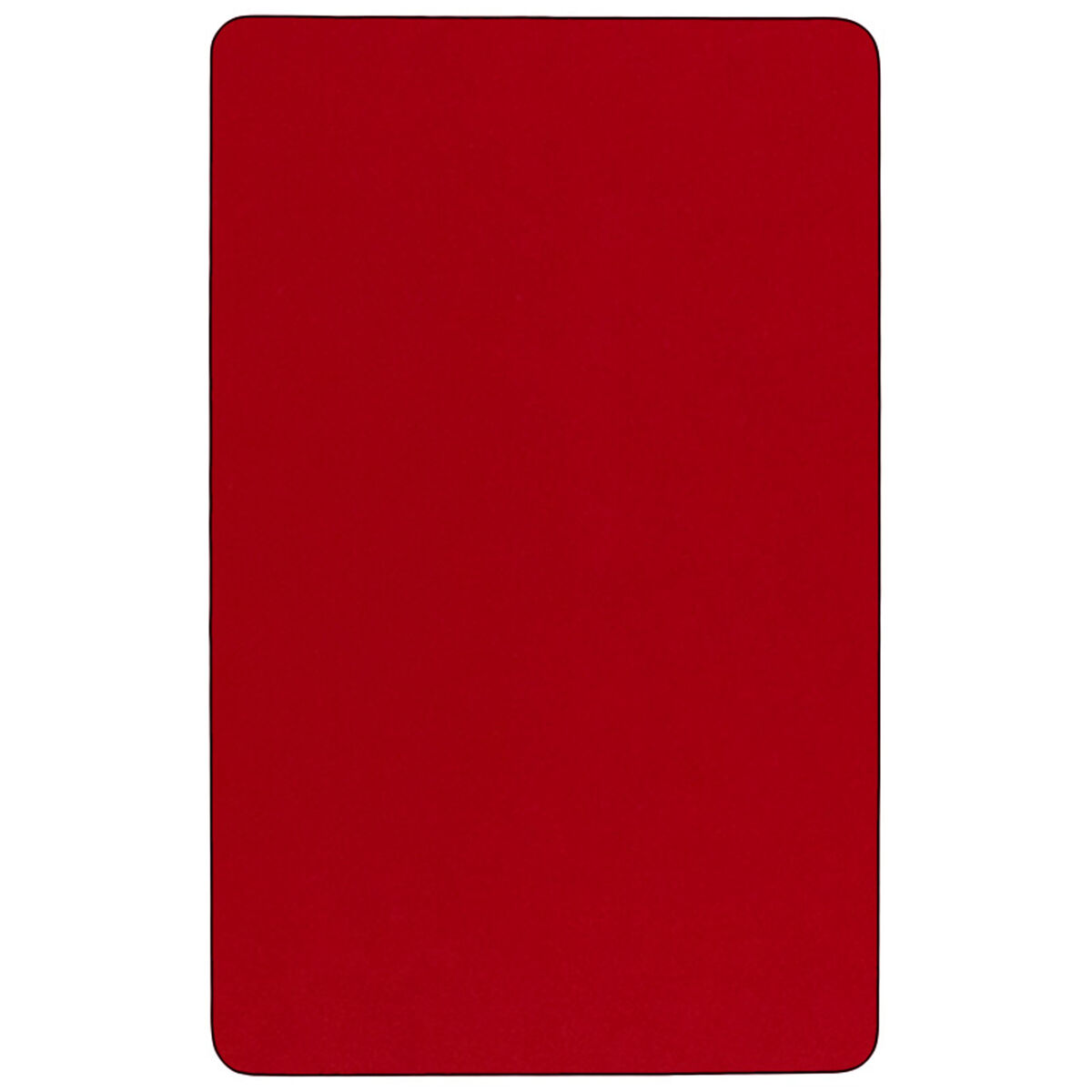 24x48 Rec Red Activity Table Xu A2448 Rec Red T P Gg