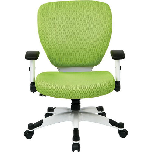 Our Space Pulsar Padded Mesh Seat and Back Managers Office Chair - Green is on sale now.
