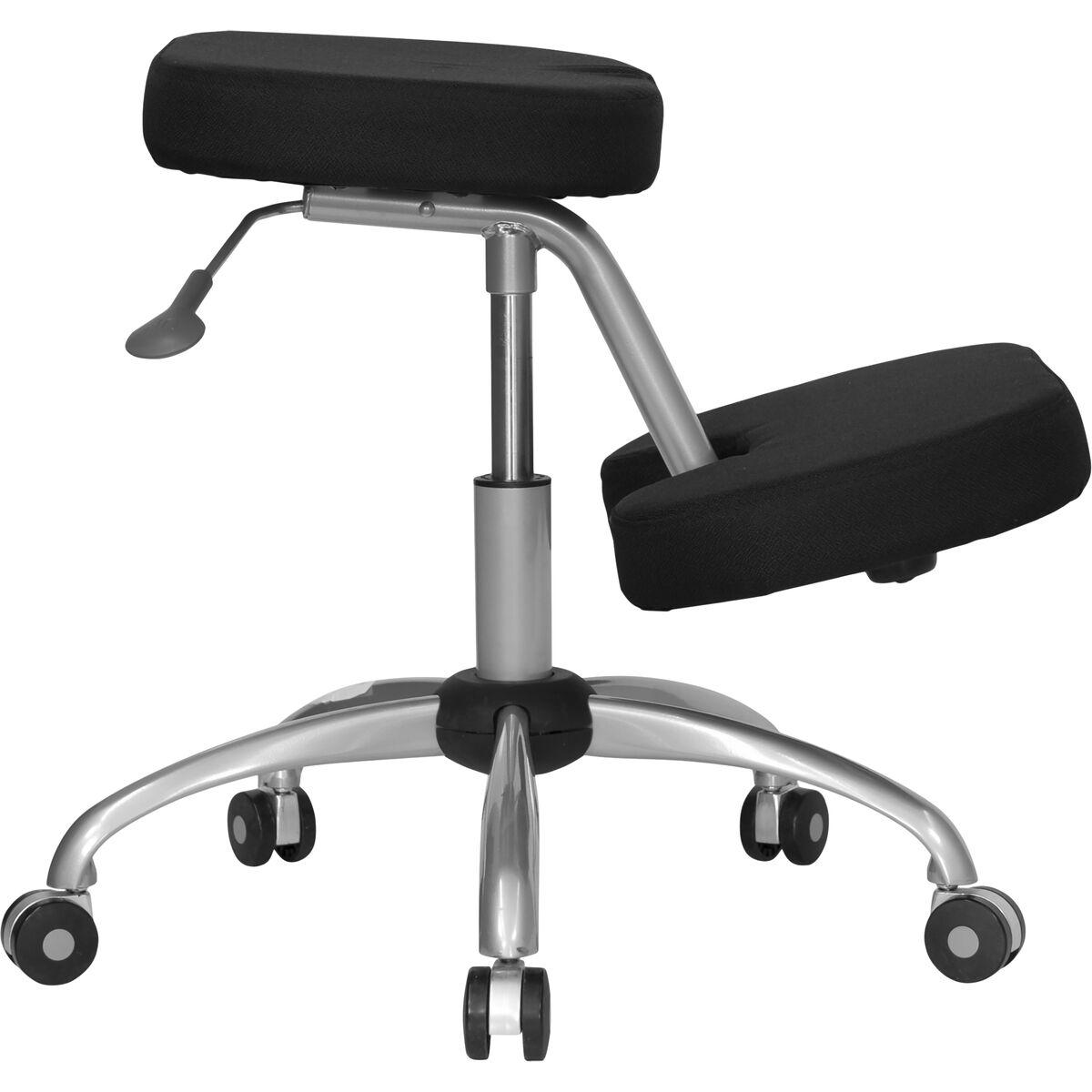 black mobile kneeler chair wl 1425 gg bizchair com