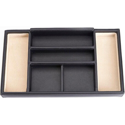 Our Dresser Valet Tray with Suede Lining - Brown is on sale now.