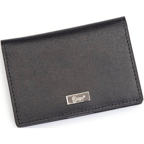 Our RFID Blocking Id Card Case Wallet - Saffiano Genuine Leather - Black is on sale now.