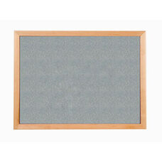 213 Series Tackboard with Angle Wood Face Frame - Claridge Cork - 120
