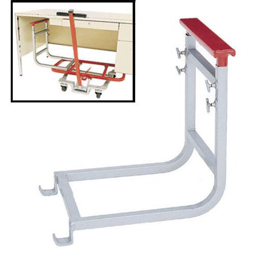 Our Single Pedestal Steel Frame Desk Lift Attachment with Powder Coated Finish is on sale now.